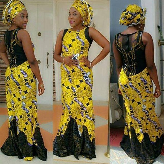 Ankara Long Gown Styles