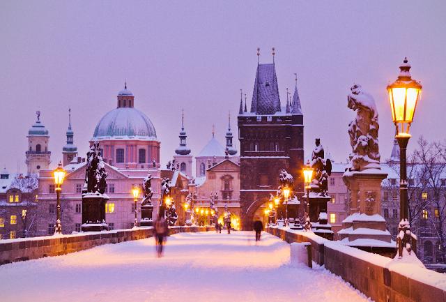 Inverno na República Checa