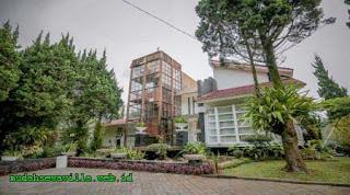 Villa Keluarga Nuansa Komplek Nyaman Daerah Dataran Tinggi Lembang