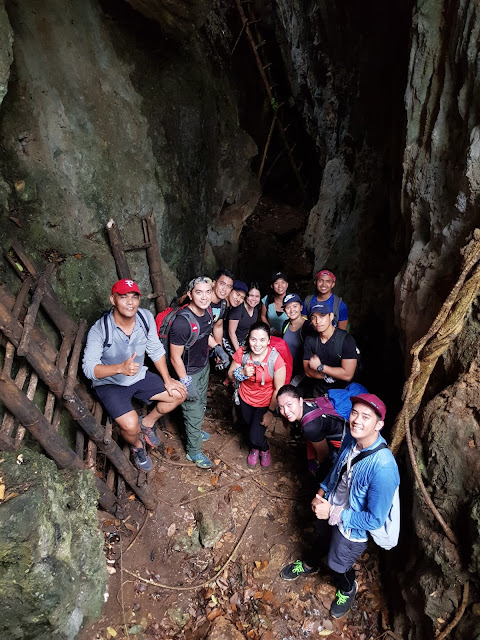 17 steps Cavern of Mt. Sipit Ulang