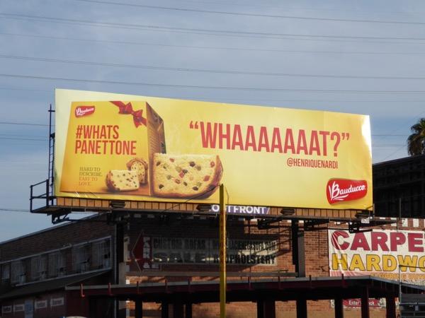 whats Panettone Bauducco billboard