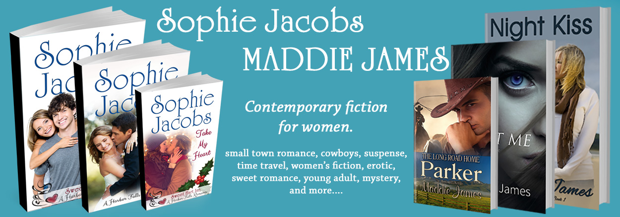 Blog at Maddie James/Sophie Jacobs