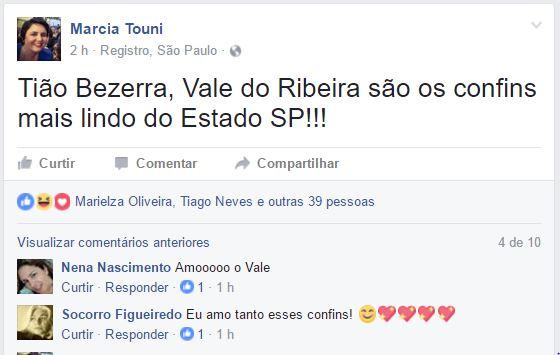 """Capitulo da Novela """"A Lei do Amor"""" da Globo causa mal estar para moradores do Vale do Ribeira"""