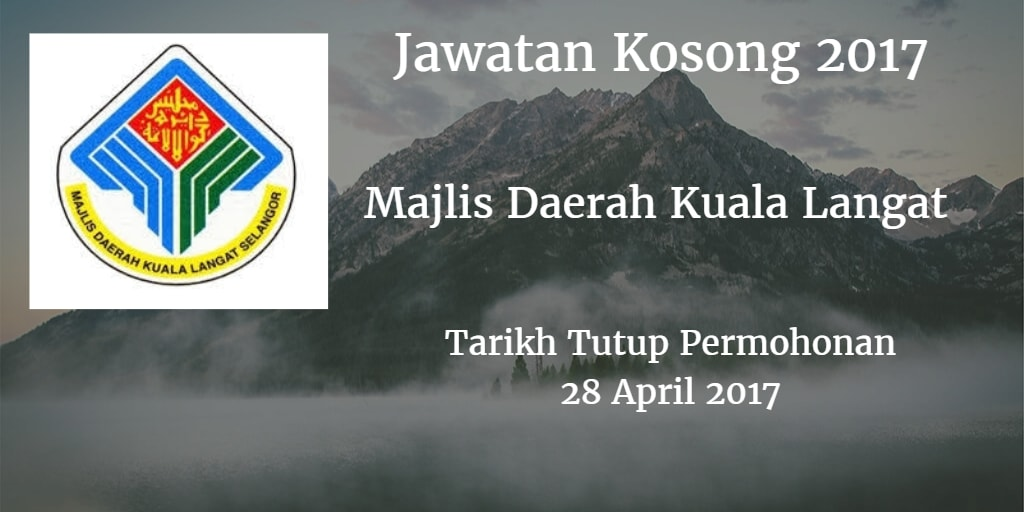 Jawatan Kosong MDKL 28 April 2017
