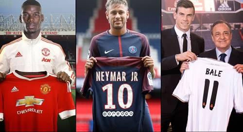 Pemain Sepak Bola Termahal di Dunia