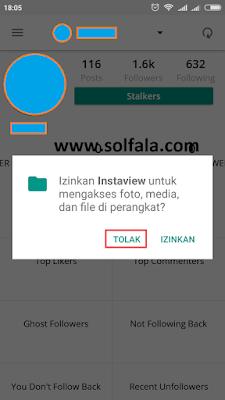 aplikasi untuk melihat pengunjung instagram