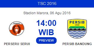Perseru Serui vs Persib Bandung