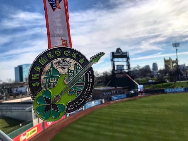 Shamrock'n Half Marathon medal 2019