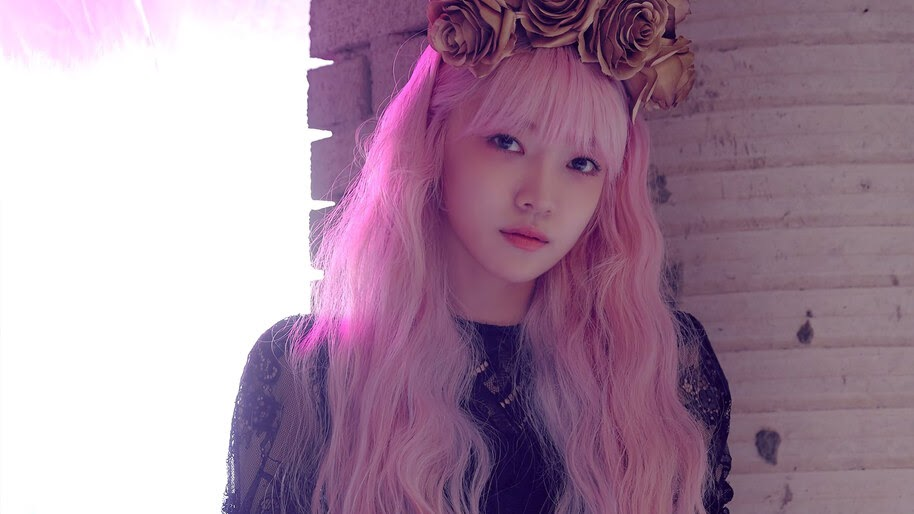 Everglow Onda Pink Hair 4k Wallpaper 3933