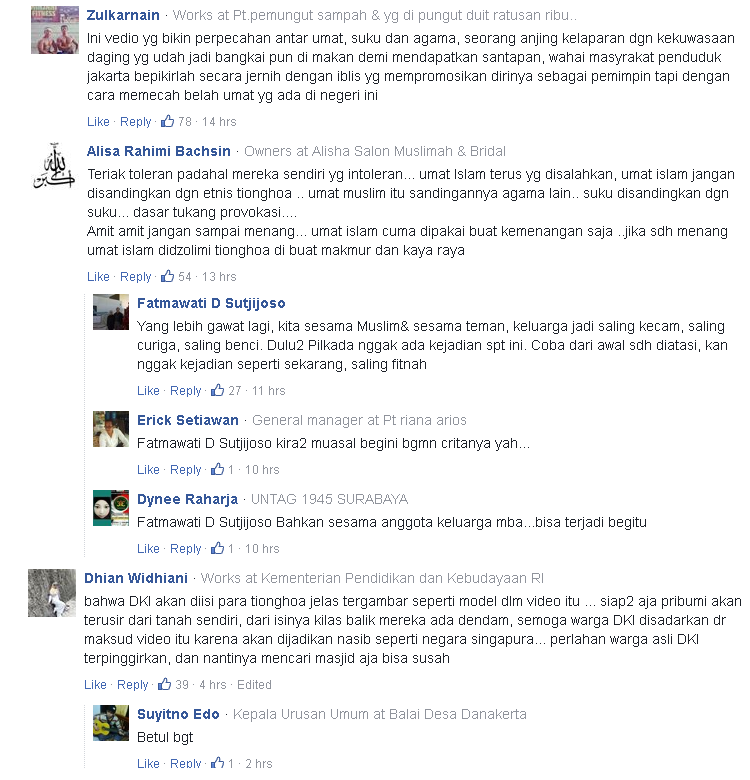 Video Kampanye AHOK Di Kecam Netizen Dan Menjadi Viral Di Sosial Media