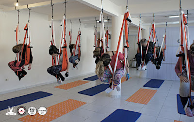 columpio, yoga, pilates