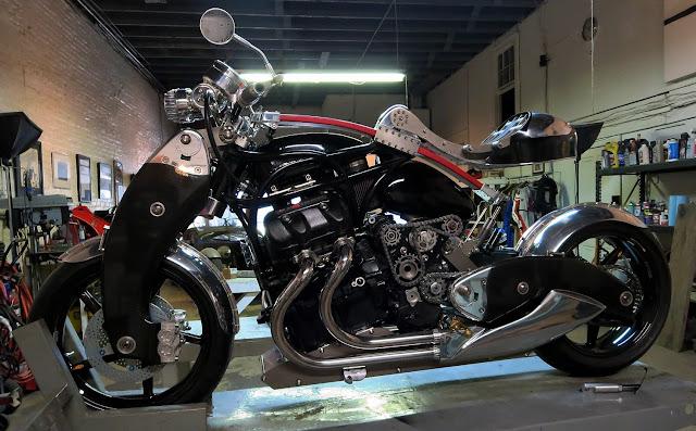 Bienville Legacy Motorcycle in Bienville Studios New Orleans