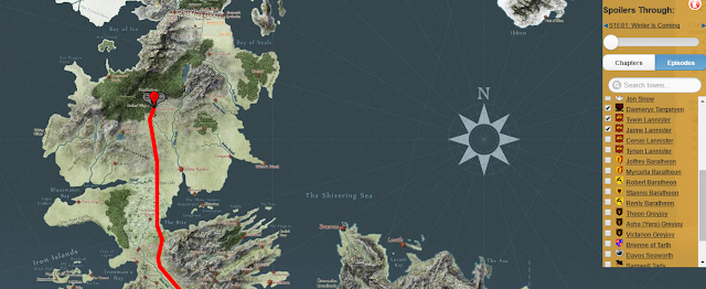 Discover Game of Thrones world by this handy interactive map 1