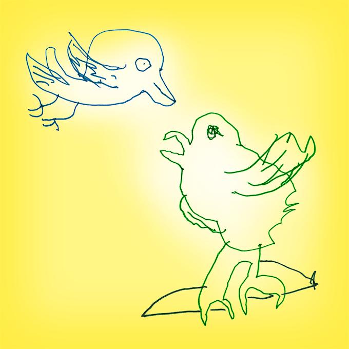 Pasaka par putniņiem.