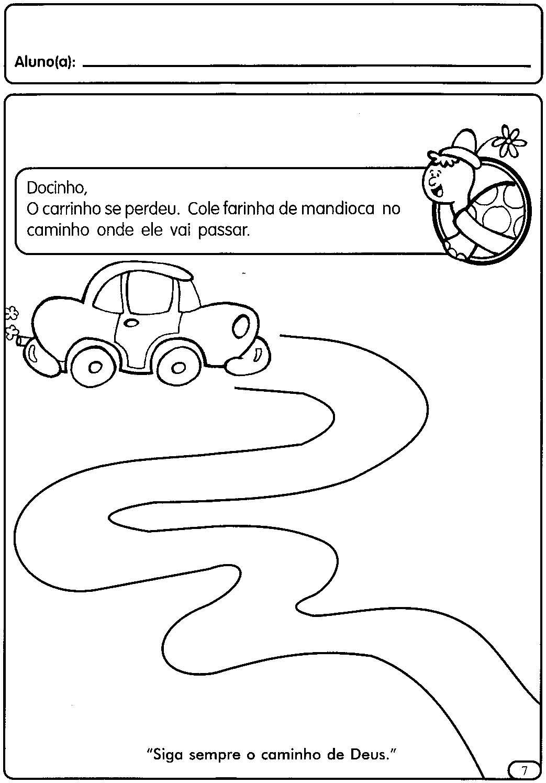 Populares ESPAÇO EDUCAR: Atividades para a Educação Infantil: O trânsito NC12