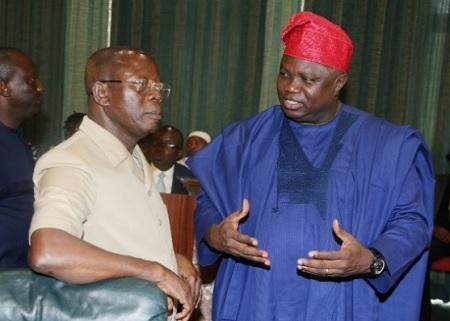 Akinwunmi Ambode and Oshiomhole