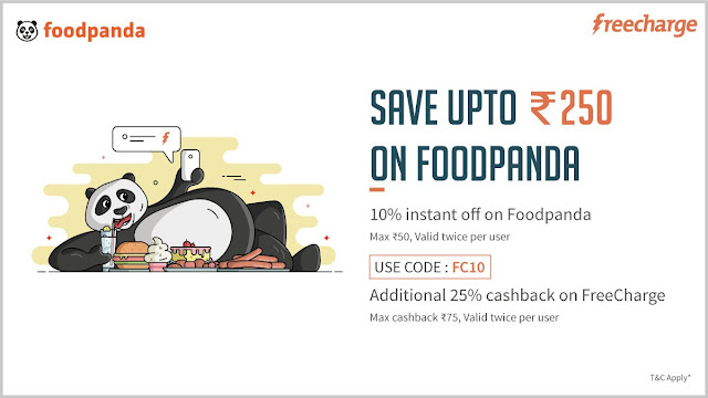 Freecharge offers Discounts