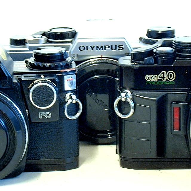 Olympus OM 10/20/30/40 SLR Cameras