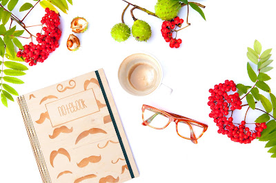 Plan na jesień, równonoc, początek jesieni, plony, cele na porę roku, jarzębina, zeszyt