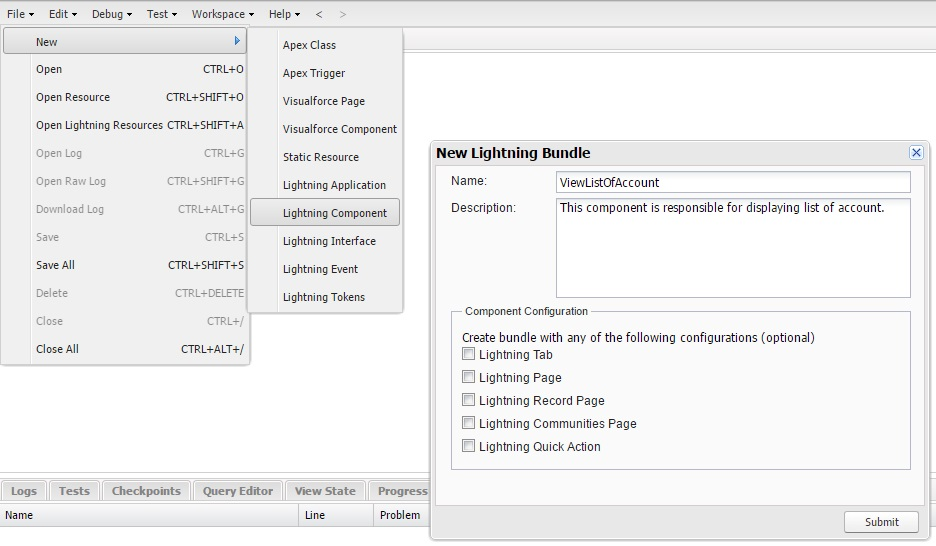 Salesforce Tips and Tricks for Developer: Create a lightning