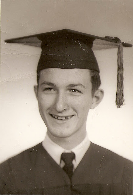 High School Graduation c1950s