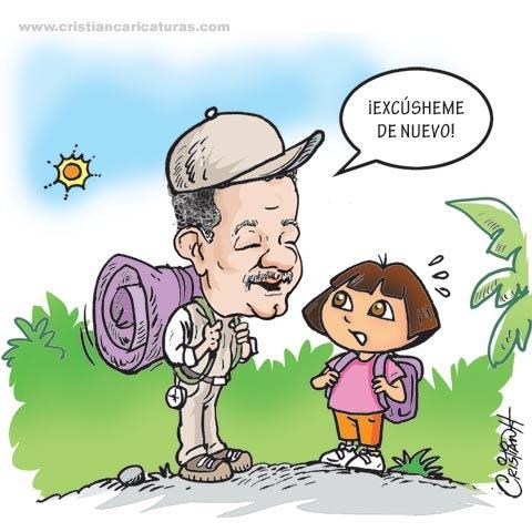 Leonel y Dora La Exploradora (¡Excúsheme otra vez!)