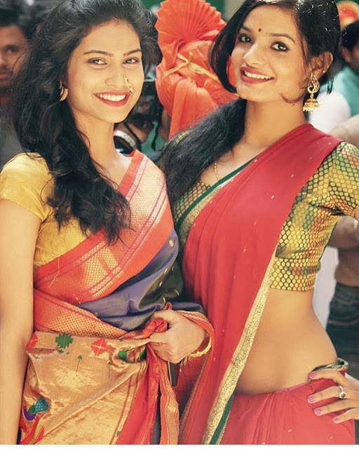 bhabhi-in-sari
