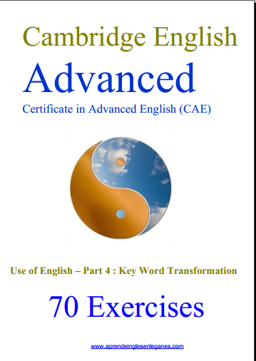 FCE Use of English part 3: Key Word Transformation