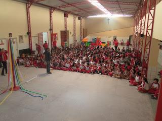 CSJD encerra semana folclórica trabalhando habilidades com seus alunos...