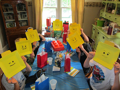 Lego Party Games and Decorations {The Unlikely Homeschool}