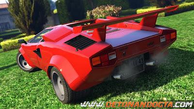 GTA V - Lamborghini Countach QV