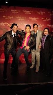 Youngest actor Varun Dhawan waxed at Madame Tussauds Hong Kong!.jpeg
