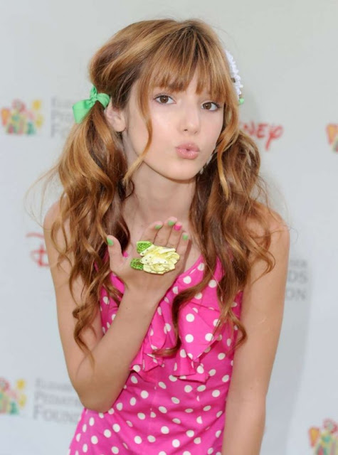 7 Photos of Bella Thorne From her Young Modeling Days