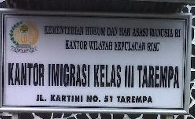 Imigrasi Tarempa Layani Paspor Online