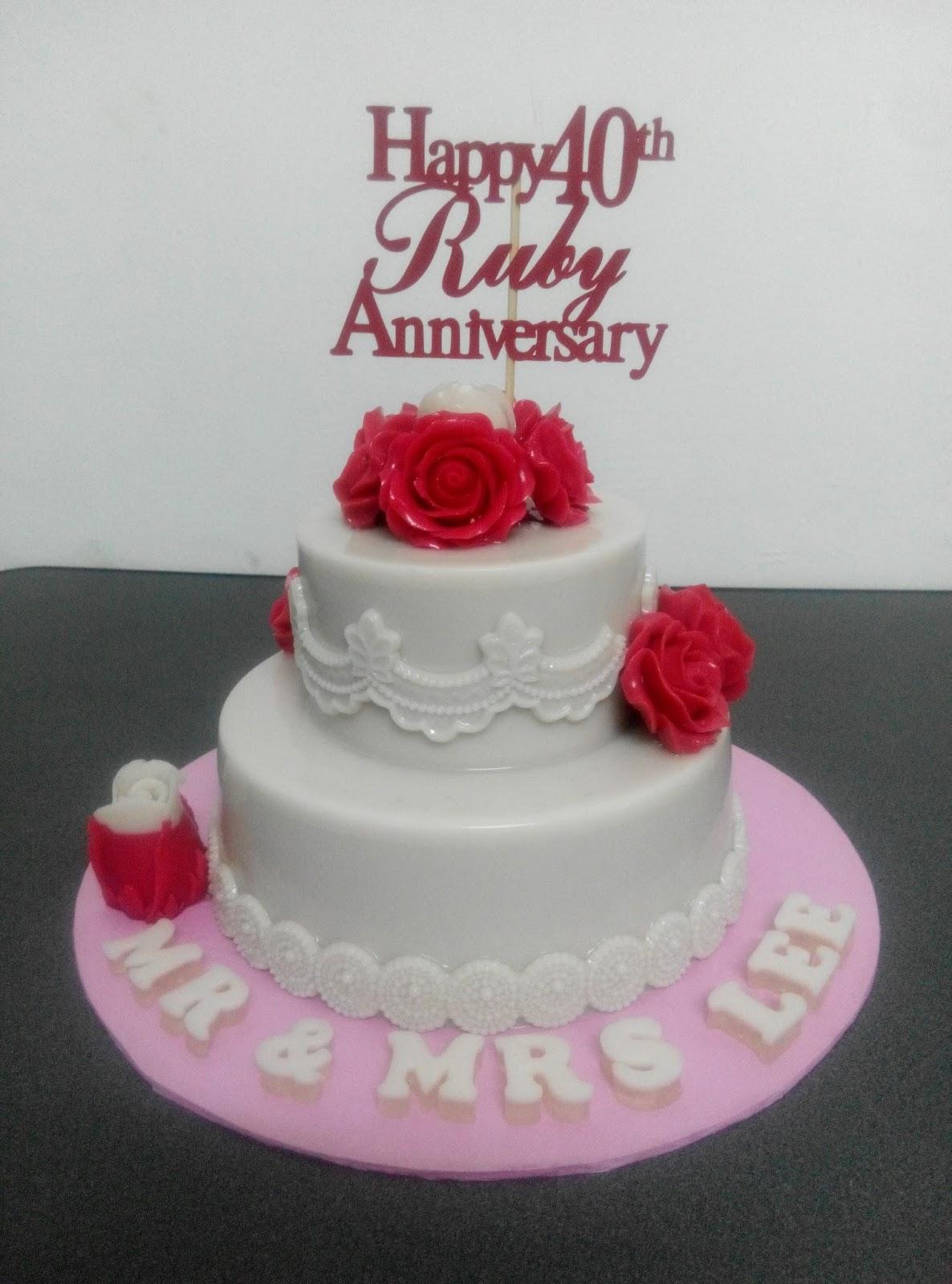 Jell Homestead Wedding Anniversary Jelly Cake