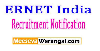 ERNET India Recruitment Notification 2017