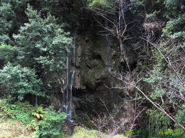 Caída de agua en el Río Rubó