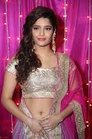 Ritika Sing in Golden Pink Choli Ghagra Cute Actress Ritika Sing ~  021.JPG