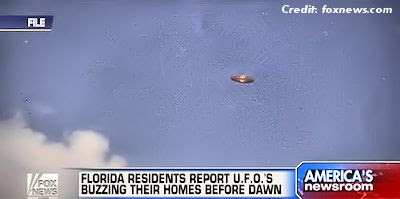 Florida Residents Report UFOs Buzzing Their Homes Before Dawn 3-14-13