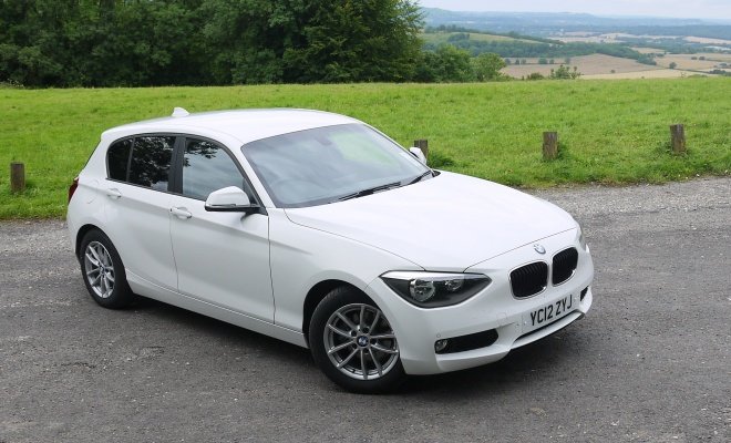 BMW 116d Efficient Dynamics front view