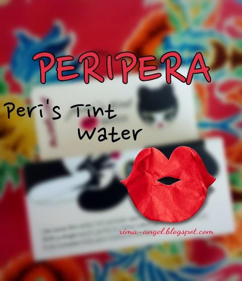 Review Peripera Peri's Tint Water - Cherry Juice