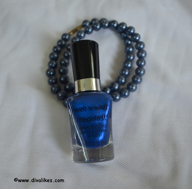 Wet n Wild Megalast Salon Nail Polish Violet Attack