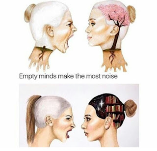 empty mind make the most noise, kata-kata positif, nasihat, motivasi