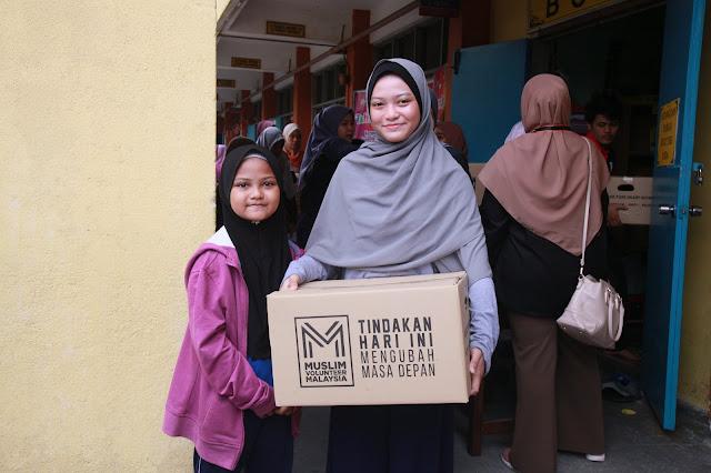 PROGRAM PURE HEART ANJURAN MUSLIM VOLUNTEER MALAYSIA