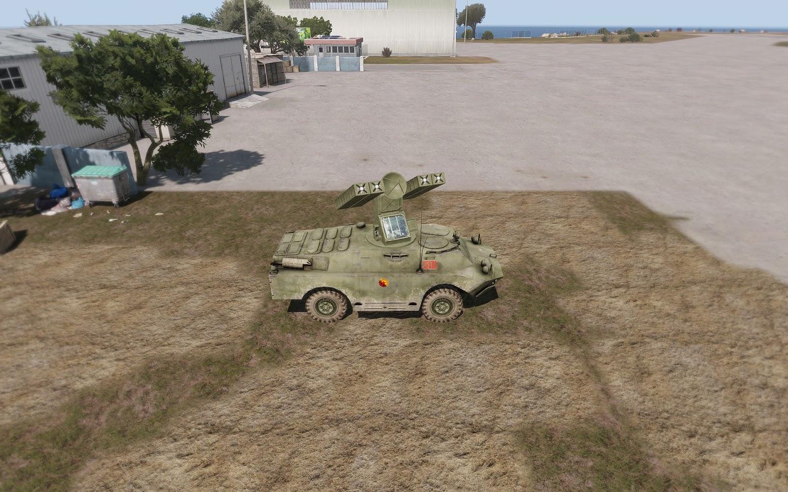 Arma3用Armaの勢力MODにあるSA-9 Gaskin