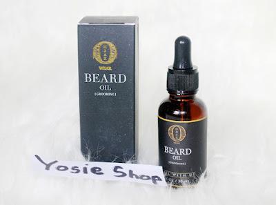 Ombak Beard Oil - Minya Penumbuh Bulu Rambut, Kumis, Jenggot, Jambang 100% AMPUH