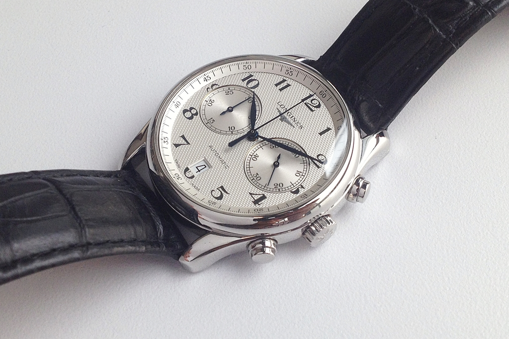 Jam Tangan Second: (SOLD) Longines Master Collection