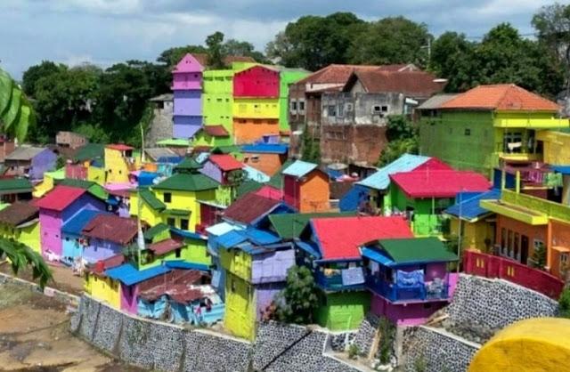 Desa Wisata Bejalen Kampung Pelangi Ambarawa Semarang