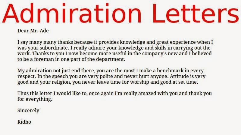 Appreciation Letter To Vendor