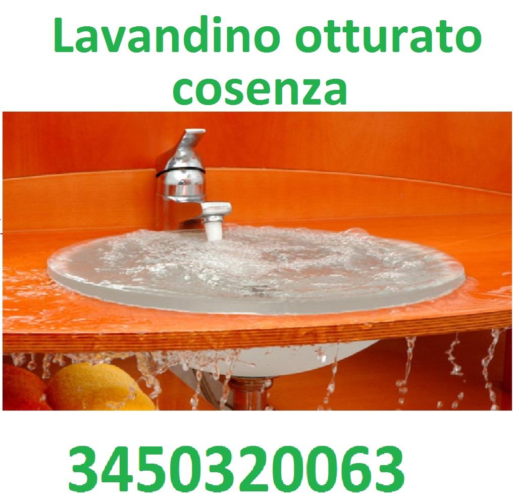 Idraulico a cosenza e rende 3450320063 pronto intervento economico low cost universit unical - Sifone lavandino bagno ...